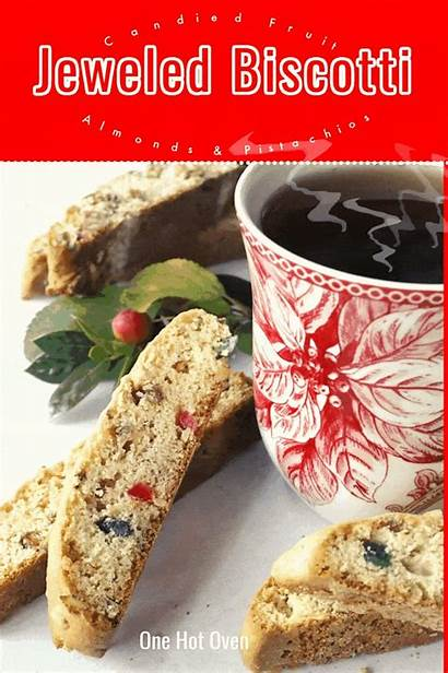 Biscotti Fruit Bake Cookies Nuts Candied Holiday