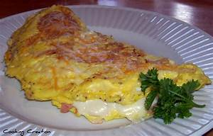 Cooking Creation: Prosciutto and Cheese Omelette