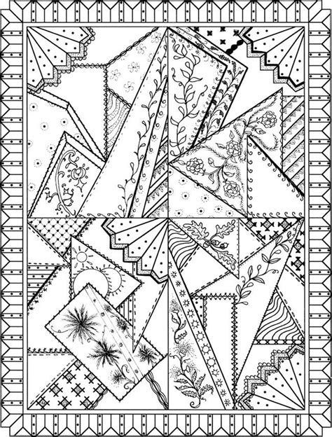 coloring pages quilt blocks   coloring pages
