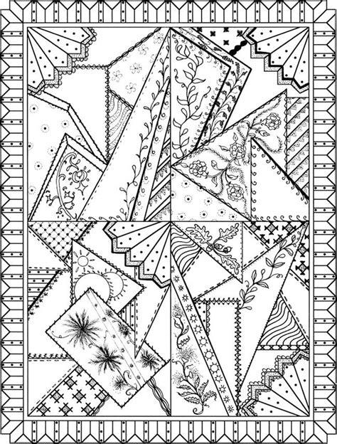 quilt coloring page paper art color coloring pages