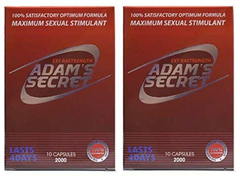 Amazon.com: Adam's Secret Natural Male Enhancement Pills