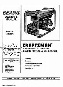 Craftsman 580 32672 Owners Manual Manualslib Makes It Easy