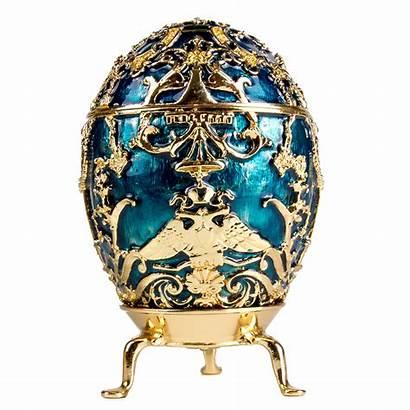 Egg Faberge Box Tsarevich Eggs Russian Russia
