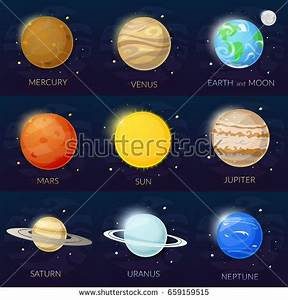 Set Planets Stock Illustration 332824793 - Shutterstock