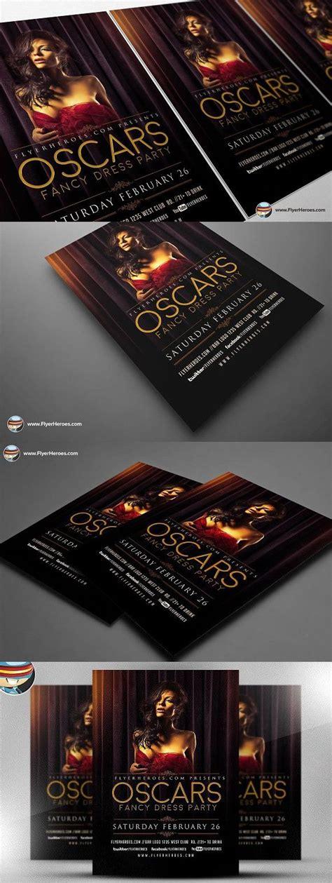 oscars fancy dress party flyer party flyer flyer flyer