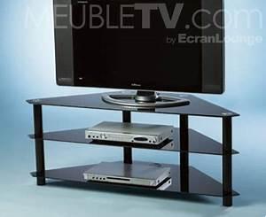 Table Pour Tv : meuble tv en bois ~ Teatrodelosmanantiales.com Idées de Décoration