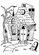 Coloring Haunted Pages Mansion Spooky Printable Vampire Rip Bat Printables Drawing Getcolorings Luigi Sheet Scary Getdrawings Drawings Colorings Para sketch template