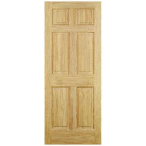 home depot 6 panel interior door jeld wen 6 panel pine interior door slab thdjw101200242 the home depot