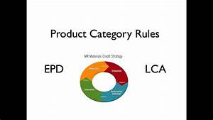 Product Category Rules  Life Cycle Assessment  Lca   And