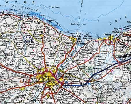 Carte Normandie Michelin by Infos Sur 187 Carte Michelin Calvados 187 Vacances Arts