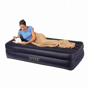 Matelas 1 Personne But : matelas gonflable intex rest bed pillow 1 personne lit d ~ Dode.kayakingforconservation.com Idées de Décoration
