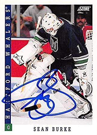 Vote up 0 vote down reply november 5, 2020, 07:25 7:25 am Autograph 179253 Hartford Whalers Ft 1993 Score No. 126 Sean Burke Autographed Hockey Card at ...