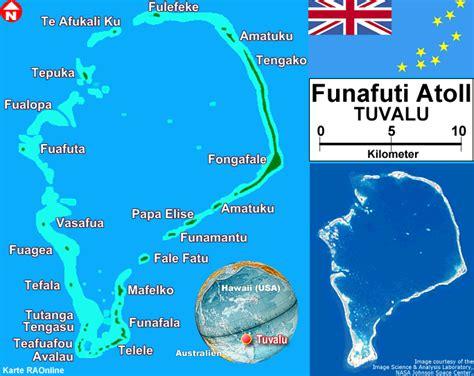 raonline  korallenriffe und atolle karten tuvalu