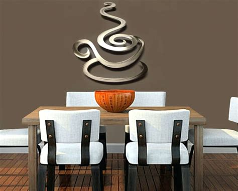 15 best collection of coffee theme metal wall