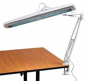 Alvin FL545 D Tri Fluorescent Drafting Lamp fice Task Light