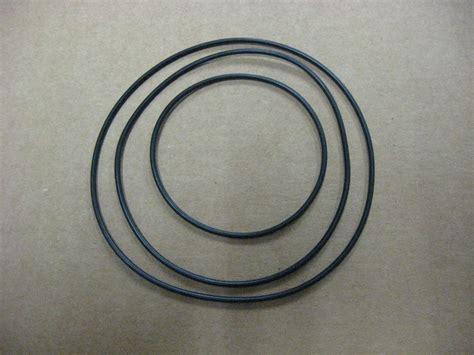 3x Electronic Round Rubber Drive Belt Kit Vcr, Cass Deck