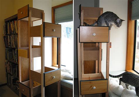 6 Very Cool And Diyable Cat Trees » Curbly