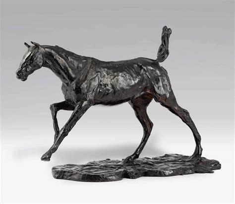 edgar degas 1834 1917 cheval au galop sur le pied droit christie s