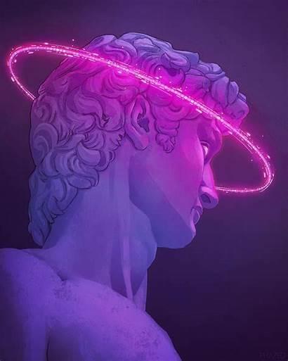 Aesthetic Vaporwave Aesthetics Purple Retro Instagram Space