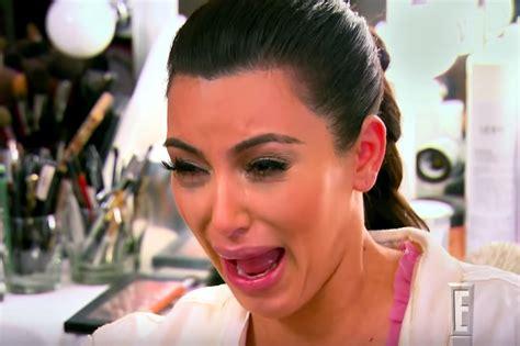 Kim Kardashian Crying Meme - kim kardashian says son saint has her same cry face people com