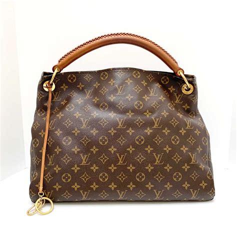 louis vuitton artsy mm brown monogram canvas hobo bag  personal shoppers