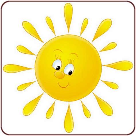 stickers muraux chambre bébé pas cher dessin de soleil en couleur