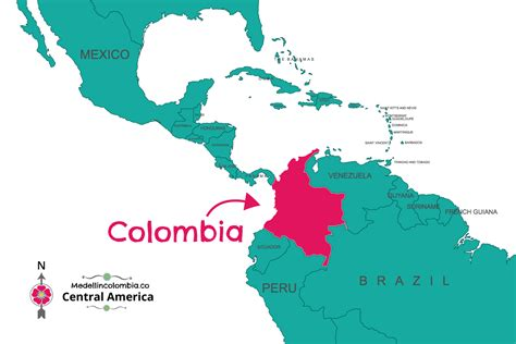 medellin colombia map compressportnederland