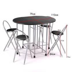 breakfast kitchen dining dinnier folding unique set table
