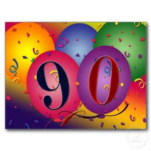 Happy 90th Birthday Decorations