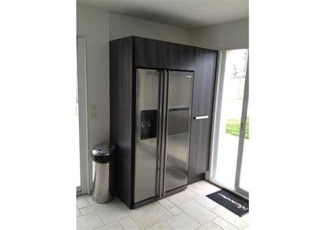 frigo cuisine encastrable meuble de cuisine pour frigo encastrable idées de
