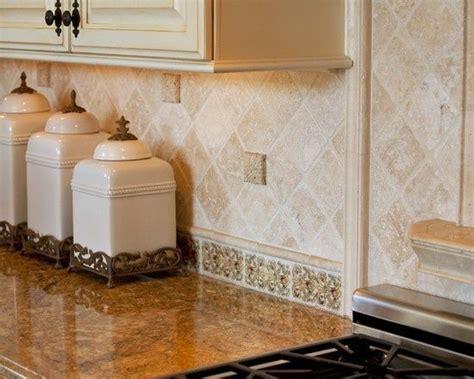 subway tile kitchen backsplash travertine kitchen backsplash kitchen tumbled travertine