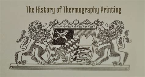 thermography raised printing thermographic ink powder