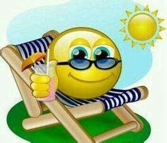 summer vacation emoticon smileys smiley emoji emoji