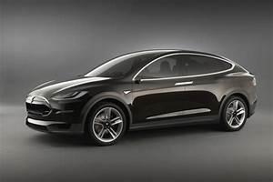Modele X Tesla : 2013 tesla model x crossover first llok with video garage car ~ Medecine-chirurgie-esthetiques.com Avis de Voitures