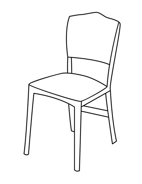 black and white arm chair chair coloring page getcoloringpages com