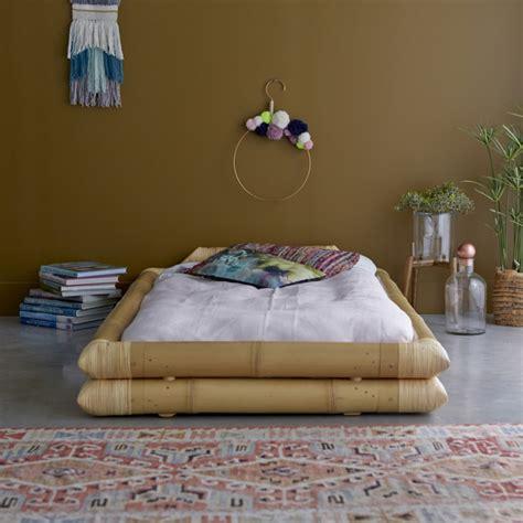 matratze für futonbett futonbett aus bambus 90x190 balyss tikamoon