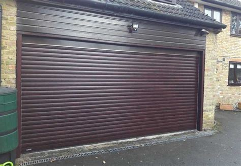 Electric Garage Doors by Seceuroglide Electric Roller Garage Door Oxford