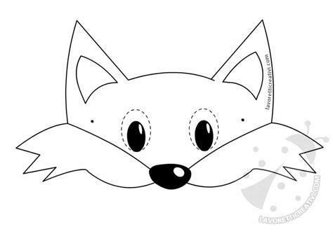 maschere da colorare animali maschere di animali per bambini da stare e ritagliare
