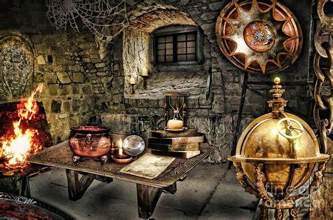 Alchemist Chamber Digital Art By Mo T
