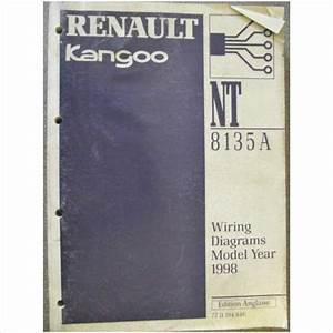 Renault Kangoo Wiring Diagrams Manual 1998 Nt8135a