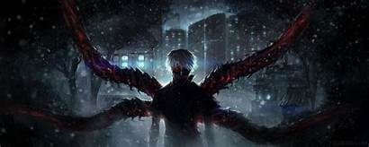 Ghoul Tokyo Anime Dual Monitor Screen Wallpapers