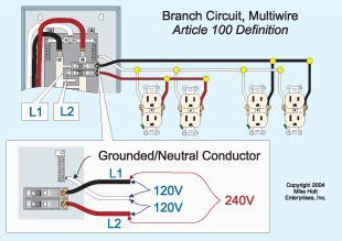 Image Result For Multiwire Branch Circuit Diagram