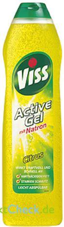 Viss Active Gel vmit Natron Citrus: Bewertungen, Angebote ...