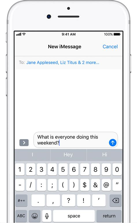 send as text message iphone send a message on your iphone or ipod touch