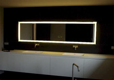led spiegell karla voor de badkamerspiegel op maat spiegels voorbeelden led s