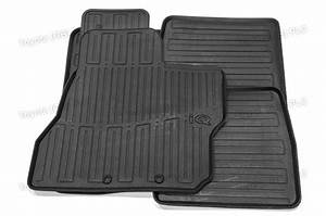Genuine toyota 5x tailored car rubber floor mats iq 05 12 for Original toyota floor mats