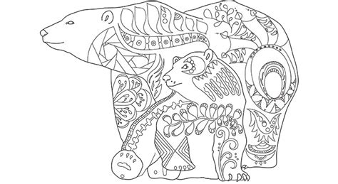 Canadian Wildlife Coloring Pages