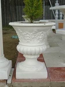 Jardineras maceteros piedra artificial y hormigón jardín y mobiliario urbano