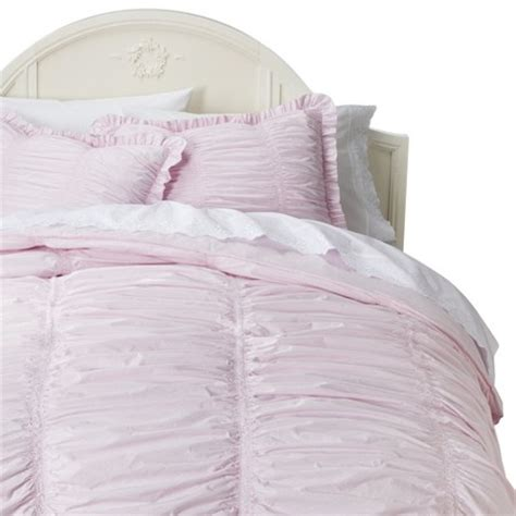 simply shabby chic ruched duvet ruched comforter set simply shabby chic target