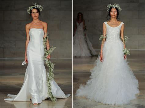 Reem Acra's Regal 2018 Bridal Collection